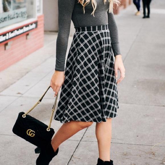 63c4ab0fae Nana Macs Skirts | Nwt Garden Grove Plaid Skirt | Poshmark